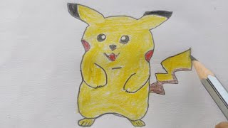 Pokemon Drawing Video with Pencil and Colors 🎨