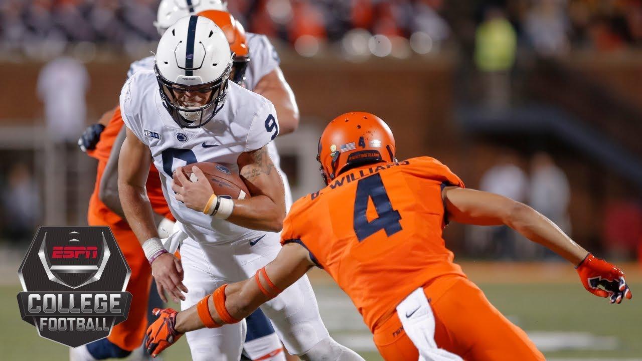 College Football Highlights: Penn State rolls past Illinois 63-24   ESPN
