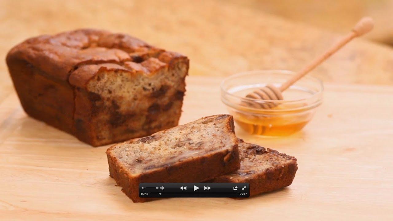 Gluten free banana bread everyday health youtube forumfinder Choice Image
