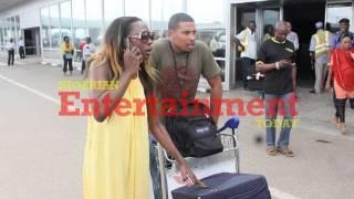former bba housemate bimp arrives nigeria for beverly osu s birthday