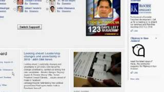 Facebook Application Survey: 2010 Philippine Presidential Contenders