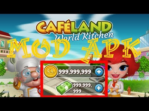 Cafeland World Kitchen MOD APK V2.1.14 2019 (Unlimited Money)