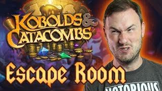 [SPONSORED] Escape the Catacombs - Hearthstone Escape Room w/ Turps, Day9, Trump and GameTheory!