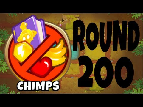 Bloons Tower Defense 6 - Round 200 on CHIMPS Mode!