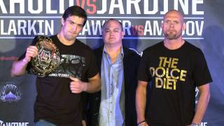 Strikeforce - Strikeforce: Rockhold vs. Jardine - News Update - SHOWTIME MMA, Woodley, Mein