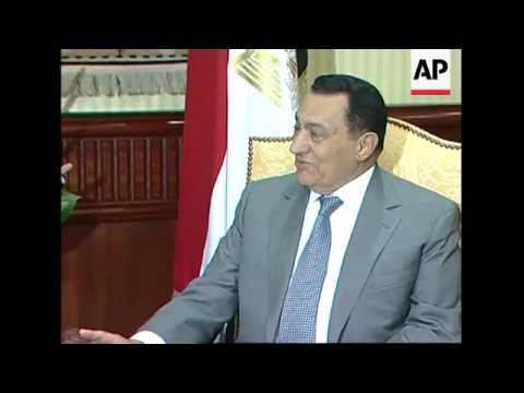 EU's foreign policy chief meets Mubarak to discuss MidEast crisis