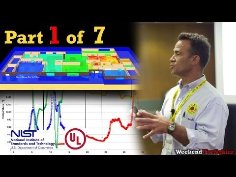 Part 1 of 7: (Intro) NIST & UL Research on Fire Behavior & Fireground Tactics