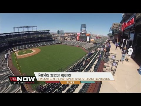 Rockies game watch party at The Rooftop at Coors Field