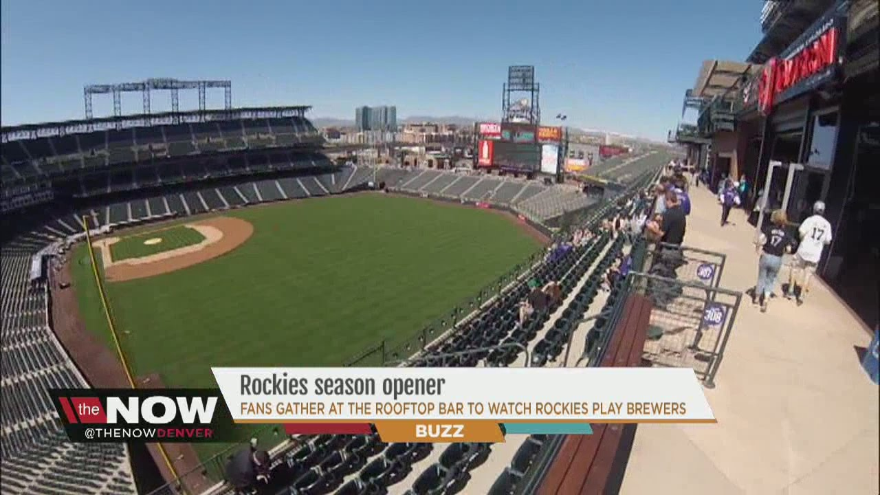 rockies game watch party at the rooftop at coors field youtube