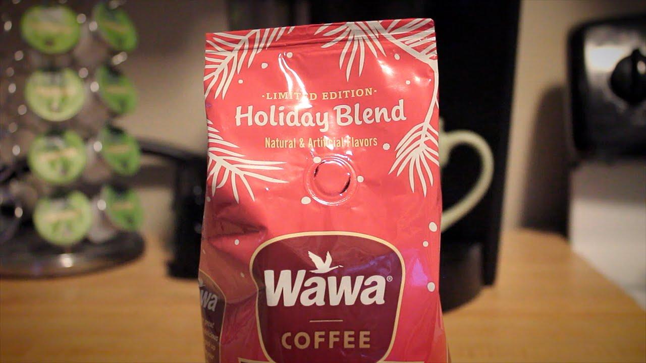 First Taste: Wawa Holiday Blend Coffee - YouTube