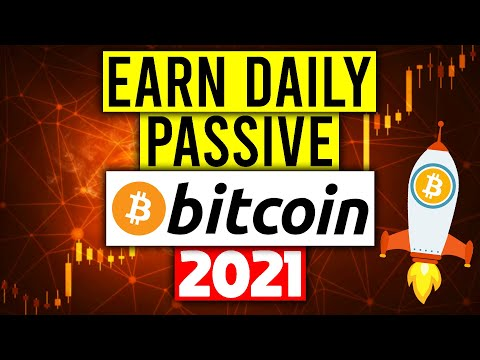 Earn FREE Bitcoin Everyday With This 1 App! (Passive Income 2021)
