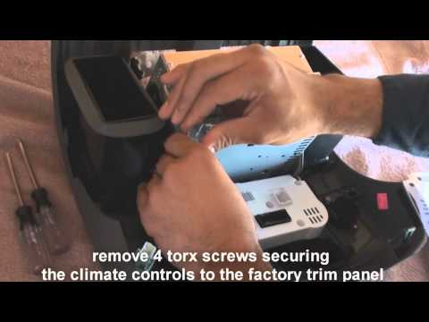 Remove Factory Stereo  Frontier 2009 -2015