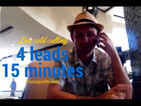 Cold calling Scripts | Live Calls | 4 leads in 15 min
