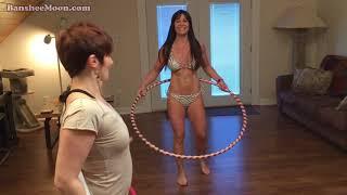 Farm Girl's Hoop Dance Lessons with Hula Hoop expert, Amelie. Read below...