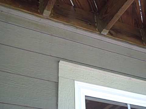 Inspecting A Deck Flashing Youtube