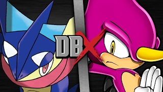 Greninja VS Espio (Pokemon VS Sonic the Hedgehog) | DBX
