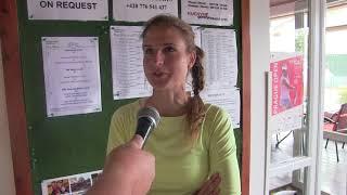 Kateřina Vaňková po skreči v semifinále na ITF Spoje