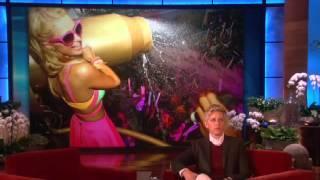 Guest DJ Paris Hilton! on Ellen show