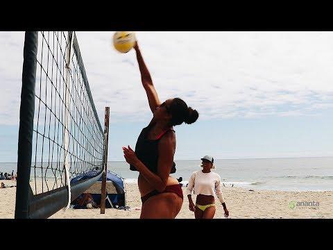 Falyn Fonoimoana & Alexa Strange   Volleyball Sponsorship   GO Ananta