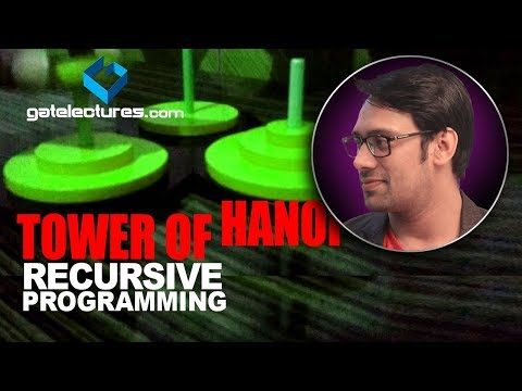 Tower of hanoi recursive programming