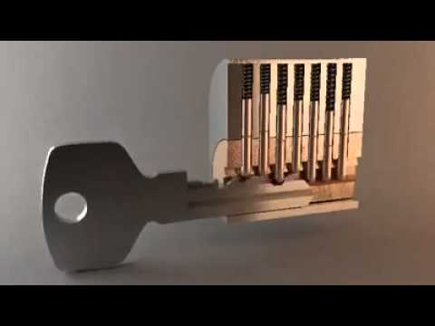 Lock Pick Key >> Inside The Lock - YouTube