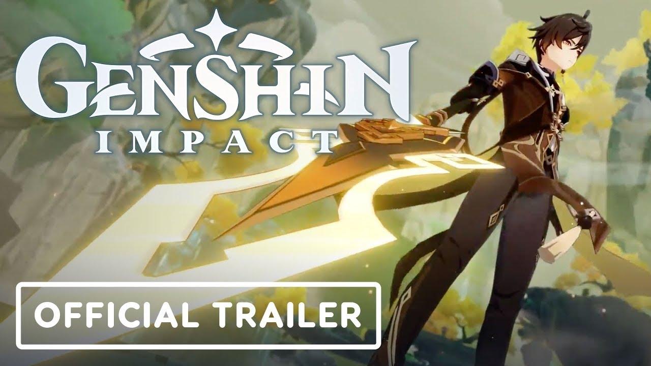 Genshin Impact - Official Zhongli Gameplay Trailer - IGN