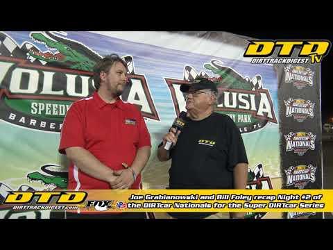 Super DIRTcar Series Recap from the DIRTcar Nationals at Volusia Speedway Park | Night #2 2/12/20