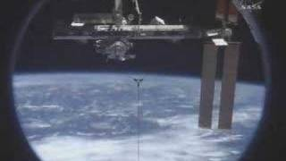 Discovery undocked from ISS Credit: NASA TV