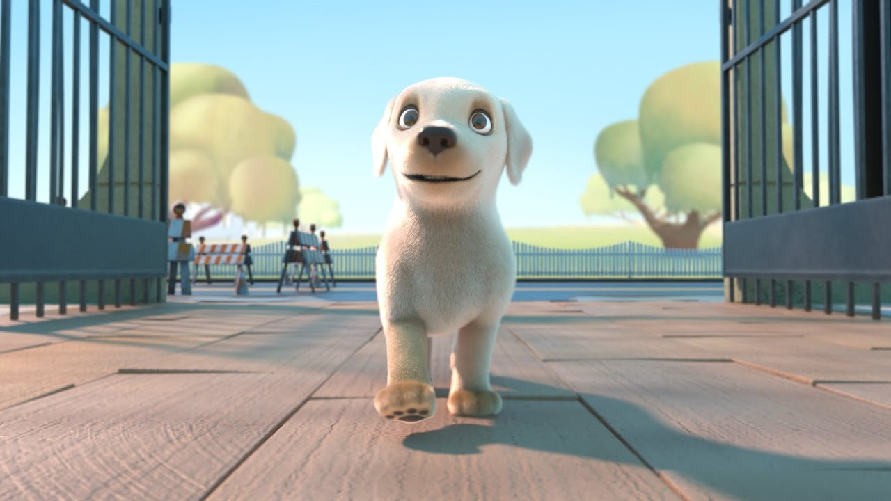 Pip  A Short Animated Film by Southeastern Guide Dogs