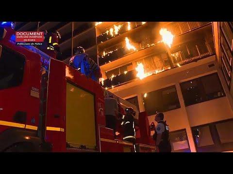 فيديو: مقتل شخص وإصابة آخرين في حريق بمستشفى في باريس  - نشر قبل 2 ساعة