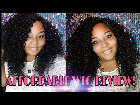 Virgin Curly Wig Under $30 || WIG REVIEW || GLAMOURTRESS.COM