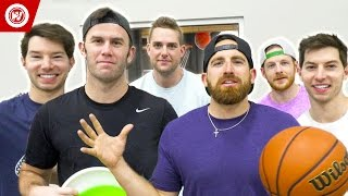 Dude Perfect Epic Trick Shot Battle 3 | Bonus Video