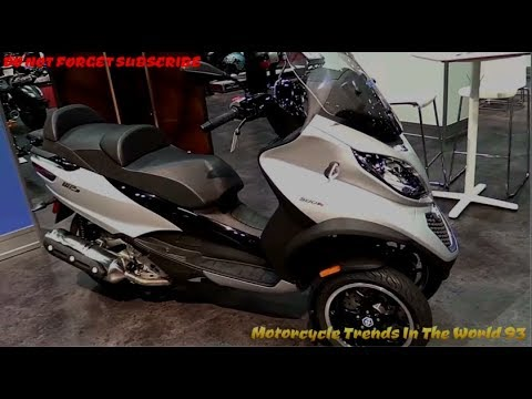 new piaggio mp3 500 sport abs 2017 2018 top models eps5 youtube. Black Bedroom Furniture Sets. Home Design Ideas