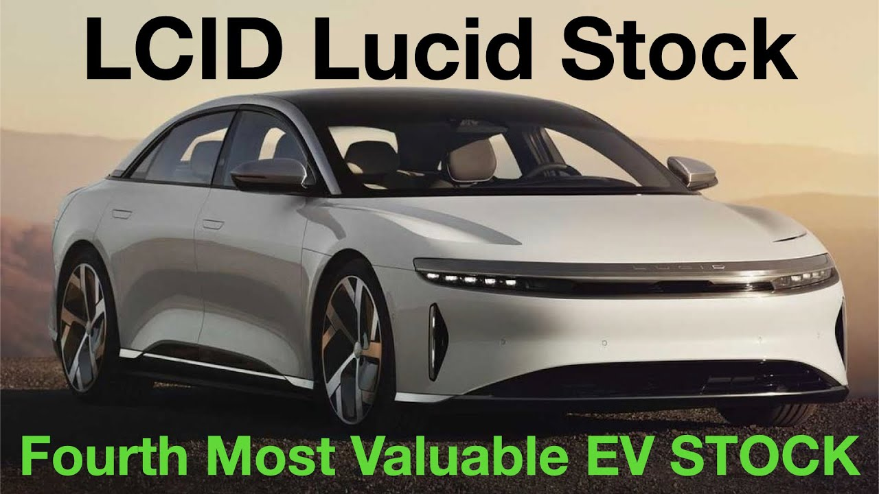 Lucid Motors stock pops in debut, CEO's goal is affordable electric ...