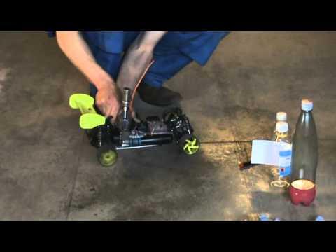 Nitro RC car fuel, make it and use! - YouTube