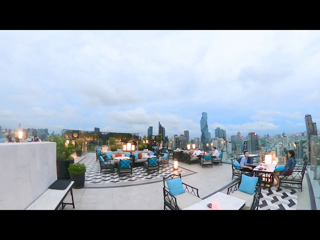 เย่ารูฟท็อป บาร์ (Yao Rooftop Bar) Bangkok Marriott Hotel The Surawongse