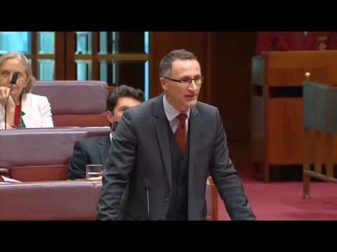 Richard Di Natale asks the govt - who have you been listening to?