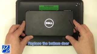 Dell Latitude ST Tablet mSATA Solid State Drive (SSD) Replacement Video Tutorial Teardown