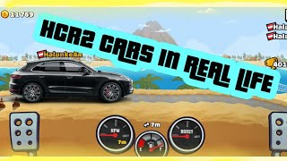 HILL CLIMB RACING 2 Cars in REAL LIFE🤯😲🏍   HCR2 Autos in echt!!   Hill Climb Racing 2 