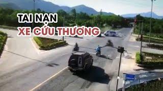 Xe chở bệnh nhân ung thư về quê bị tai nạn, y tá văng xuống đường