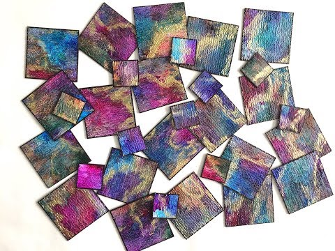 Alcohol Inks: Use all your colors without making mud!