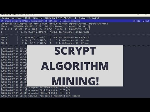 How To Mine Scrypt Coins With A Gridseed G-Blade 4.5Mh/s Miner!