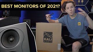 Unboxing and review of the new Kali Audio IN-5 Studio Monitors!