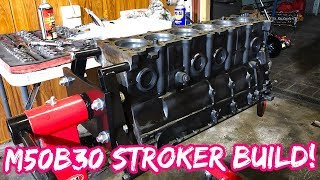 M50B30 ENGINE BUILD PT1
