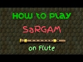 Download How to Play Sargam on Flute MP3 song and Music Video