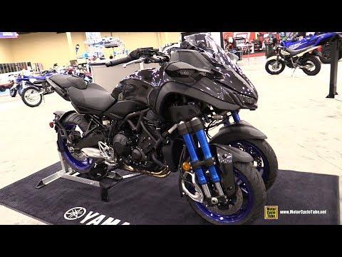 download 2019 Yamaha Niken 3-Wheel Leaning Bike - Walkaround - Debut at 2018 AIMExpo Las Vegas