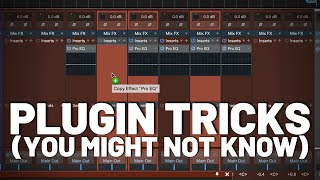 #StudioOne Plugin Tricks You May Not Know