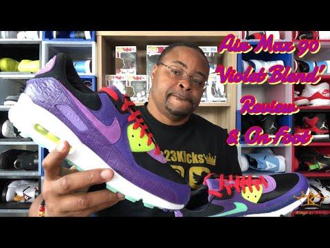 #airmax #violetblend Air Max 90 'Violet Blend' | Kings23Kicks