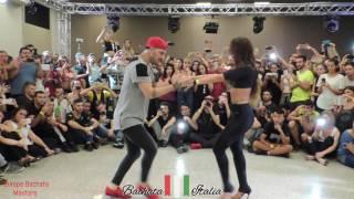 Daniel e Desiree ∫Europe Bachata Masters 2016∫- Milano, Jessie J - Flashlight (Ryan Bachata Remix)