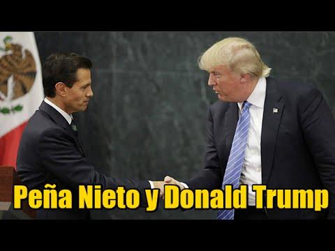 Peña Nieto se reune con Donald Trump